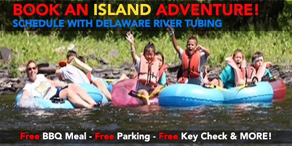 Schedule with Delaware River Tubing